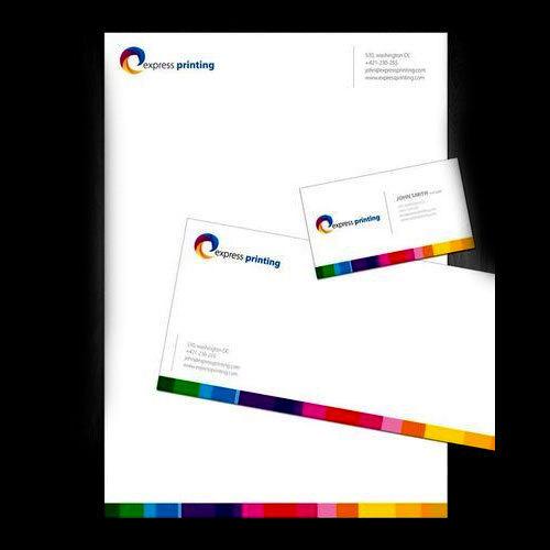 Letterhead envelope printing