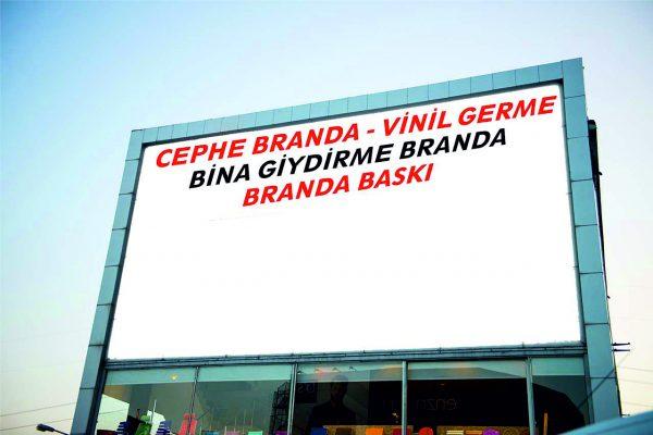 Branda vinil baskısı